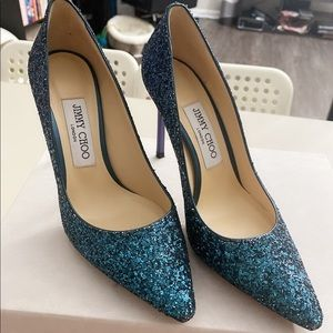 Authentic Jimmy Choo Romy 105mm (NOT OMBRÉ)